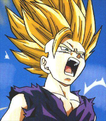 Les transformations sayens - Sangoku super sayen 3 ...